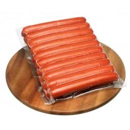 Saucisses Hot Dogs (pur boeuf) 144 x 60g  51210 Saucisses Hot Dog