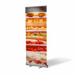 Roll Up Bannière Hot Dog
