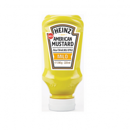 Moutarde américaine hot-dog HEINZ 400 ml  53330 ÉPICERIE
