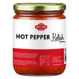 Relish aux piments forts 0,5 L  53123 Garniture pour Hot-Dog