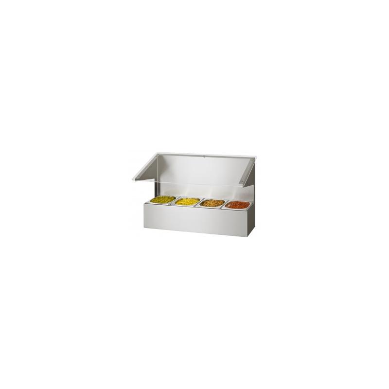 Bacs à ingrédients pour GN 1/6  81410 Récipients