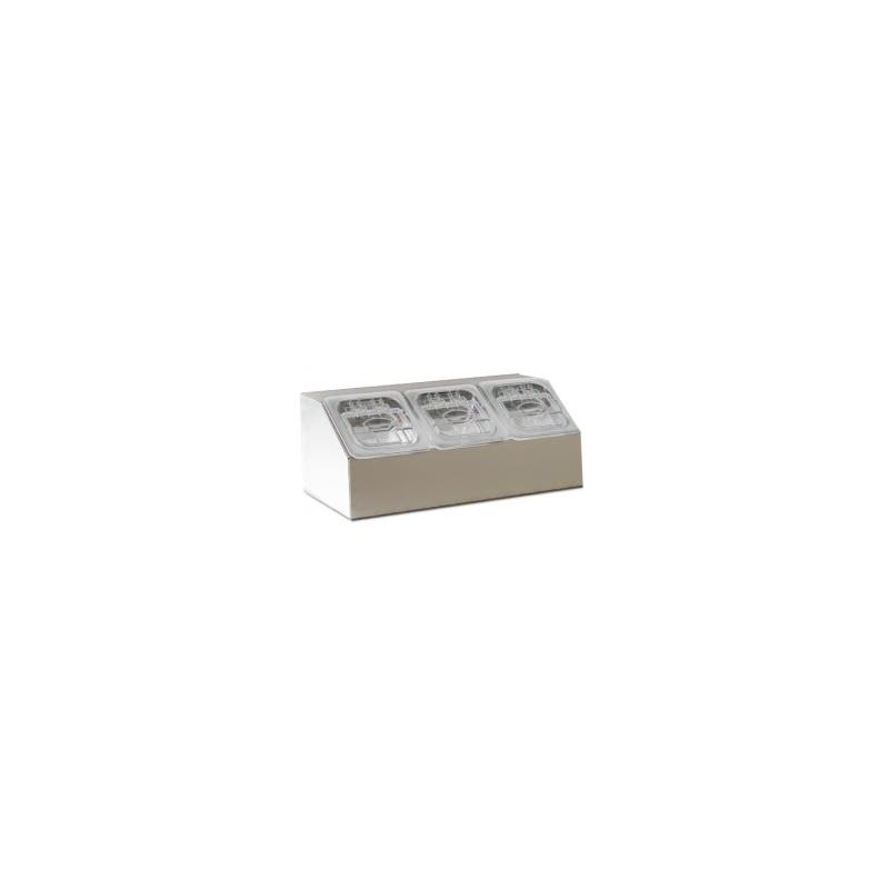 Bacs à ingrédients - 3 bacs  81300 Récipients
