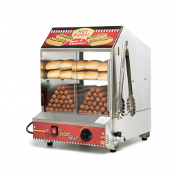 Cuiseur vapeur à Hot Dogs NEW YORK (240 Hot Dogs)  11400 Cuiseurs vapeurs pour Hot Dogs