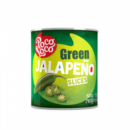 Piments Jalapeño tranchés 2,9kg  53215 Garniture pour Hot-Dog