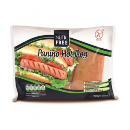 Pains à hot-dog sans gluten ni lactose 20x90g  52130 Petits pains Hot-Dog