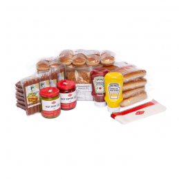 Pack découverte Vegan Party 36  50186 Packs Hot-Dog