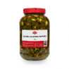 Piments Jalapeno tranchés 4kg  53212 Garniture pour Hot-Dog