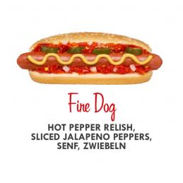 Hot Pepper Relish (pimenté)  53113 Garniture pour Hot-Dog