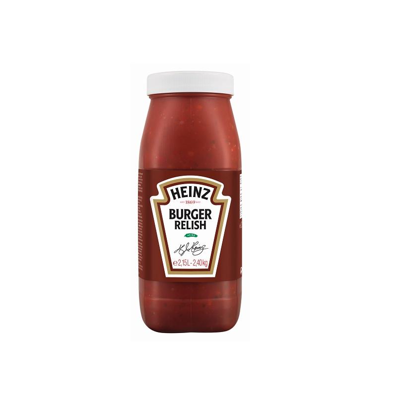 Relish HEINZ Burger 2,15 L  53117 Sauces Hot-Dog