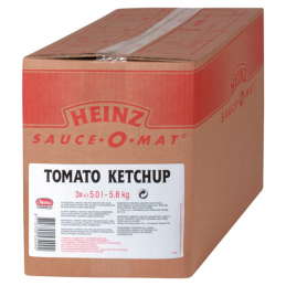 Recharge Ketchup Heinz 3x5 L  53319 Sauces Hot-Dog