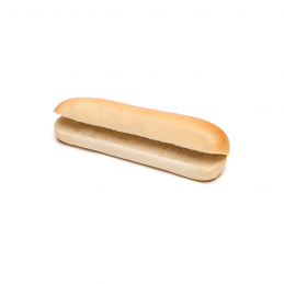 Pains Hot-Dog grand format prédécoupés 128 x 80 g  52140 Petits pains Hot-Dog