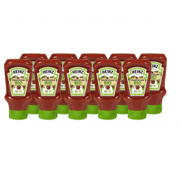 Ketchup HEINZ BIO aux tomates 10 x 400 ml  53334 Sauces Hot-Dog