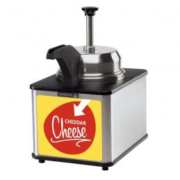 Chauffeur de fromage avec pompe 3L  15100 Cuisson fromage / nachos / chili dog
