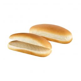 Pains à Hot Dog prédécoupés 192x62,5g (livraison gratuite)  52100 Petits pains Hot-Dog