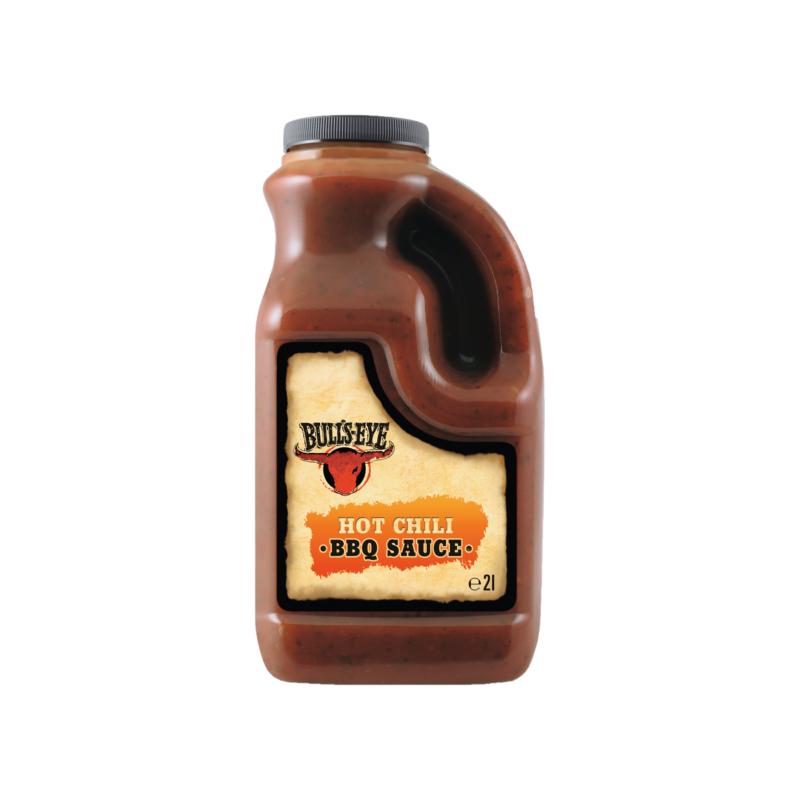 Sauce Bull's Eye Barbecue Hot Chili  53524 Sauces Hot-Dog