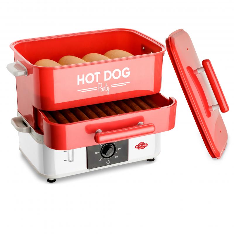 Hot Dog party  11050 Cuiseurs vapeurs pour Hot Dogs