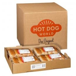 Pains à Hot-Dog prédécoupés 192 x 62,5 g  52100 Petits pains Hot-Dog