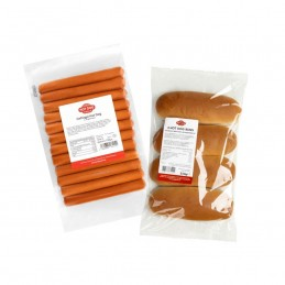 Hot Dogs de volaille 60g  50123 Packs Hot-Dog
