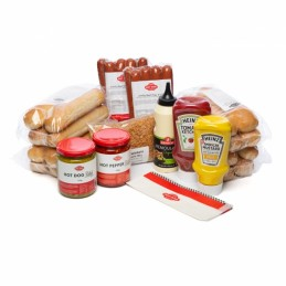 Pack découverte 16 Hot Dogs grand format 80g (Jumbo)  50225 Accueil