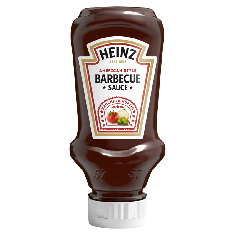 Sauce Barbecue BBQ Heinz  53587 Sauces Hot-Dog