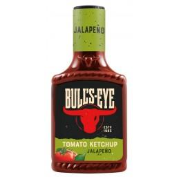 Bull´s Eye Tomato Ketchup Jalapeno 425 ml  53540 Garniture pour Hot-Dog