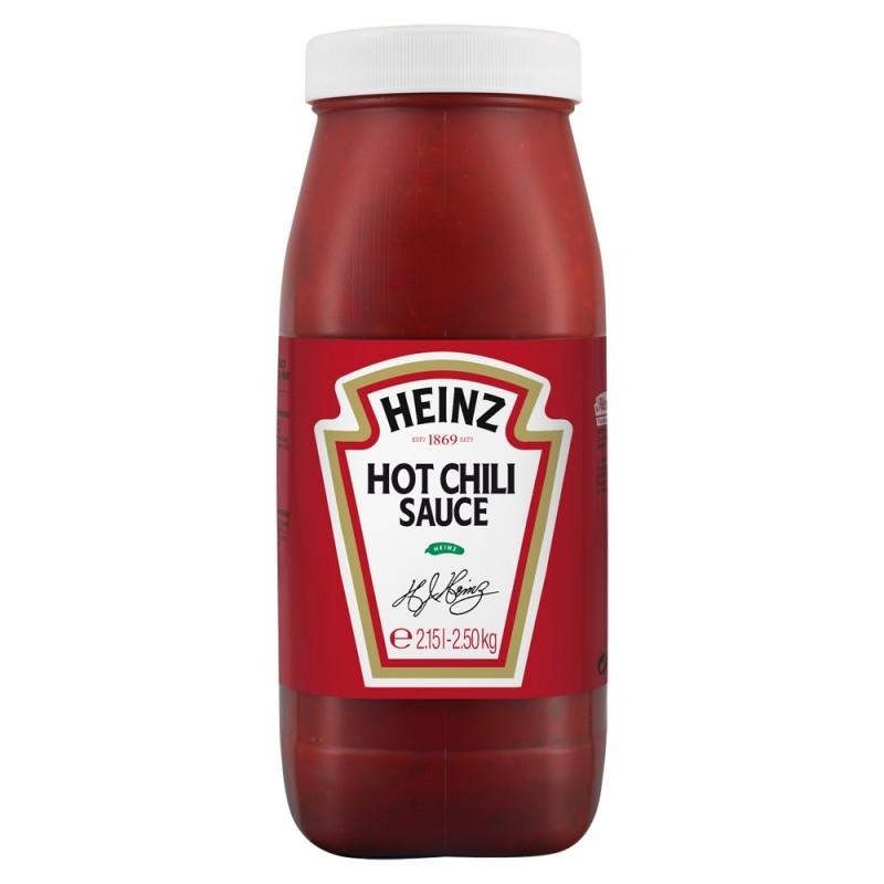 Sauce Hot Chili HEINZ 2,15 L  53364 Sauces Hot-Dog