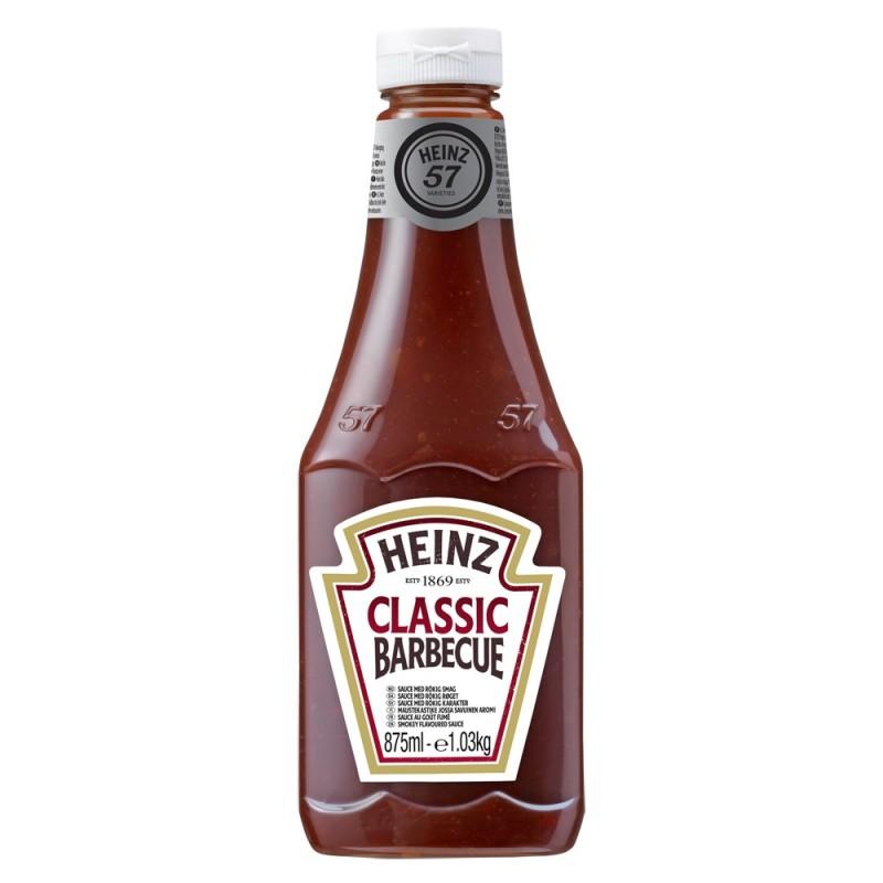 Sauce Barbecue HEINZ 875 ml  53505 Sauces Hot-Dog