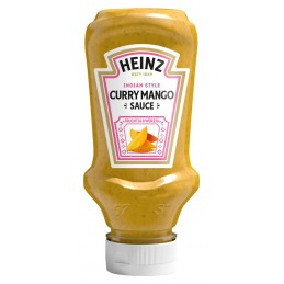 Sauce Curry Mango HEINZ 220 ml  53581 Sauces Hot-Dog