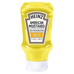 Moutarde américaine hot-dog HEINZ 400 ml  53330 Sauces Hot-Dog