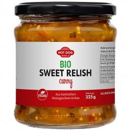 Relish BIO Sweet Green curry 325g  53620 Garniture pour Hot-Dog