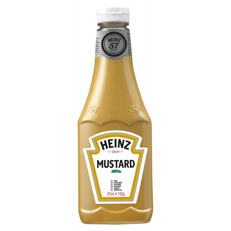 Moutarde HEINZ légèrement pimentée 875 ml  53509 Sauces Hot-Dog