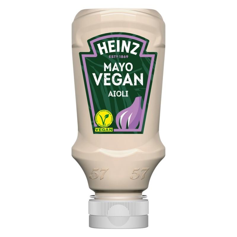 Mayonnaise Végane Aioli HEINZ 220 ml  53594 Sauces Hot-Dog