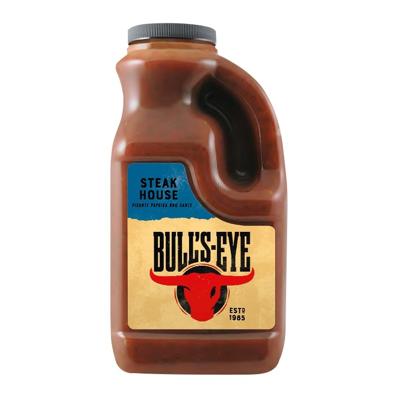 Sauce BBQ Steakhouse Bull's Eye 2L  53513 Sauces Hot-Dog
