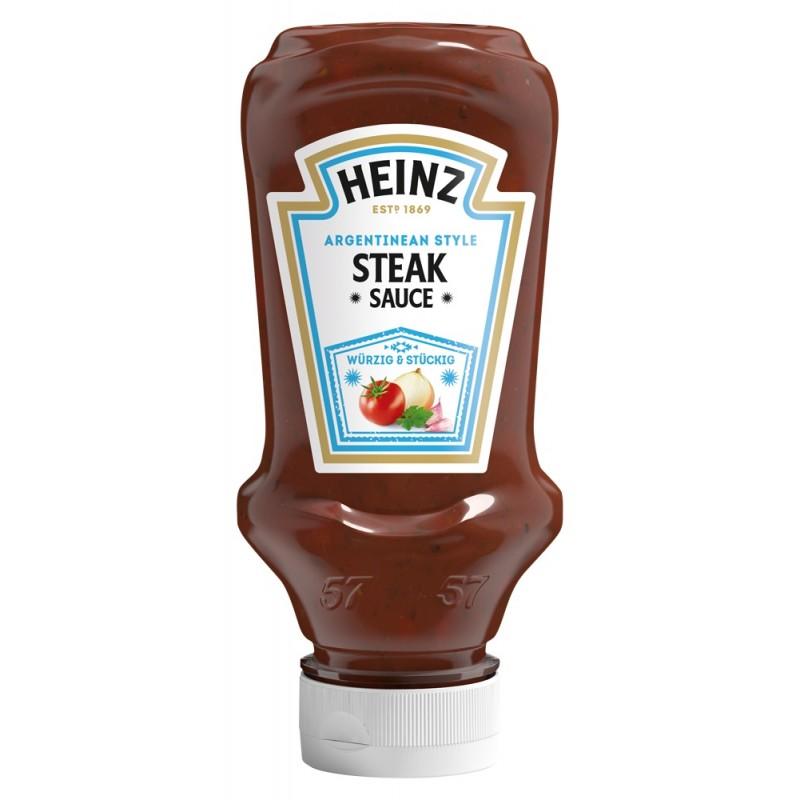 Sauce Steak Argentina HEINZ 220 ml  53592 Sauces Hot-Dog