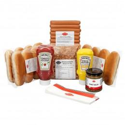 """Pack Hot Dogs """"découverte"""" 12 saucisses et pains  50223 Packs Hot-Dog"""