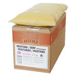 Moutarde américaine 3x 2,5L (7,5 litres) HEINZ  53321 Sauces Hot-Dog