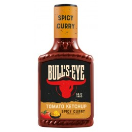 Bull´s Eye Tomato Ketchup Spicy Curry 425 ml  53542 Sauces Hot-Dog