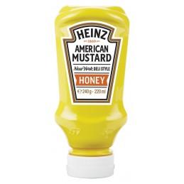 Moutarde au Miel HEINZ 220ml (Honey Mustard)  53583 Sauces Hot-Dog