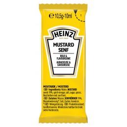 Moutarde peu piquante HEINZ 100 x 10 ml  76013498 Sauces Hot-Dog