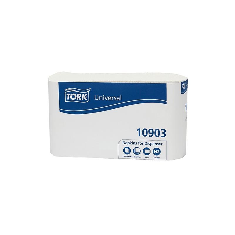 250 Serviettes (pour distributeur)  83221 Consommables