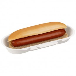 """500 emballages pour Hot Dogs """"Jumbo"""" Biodégradables  85127 Consommables"""