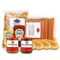 Pack Hot-Dog en grande quantité à prix réduits